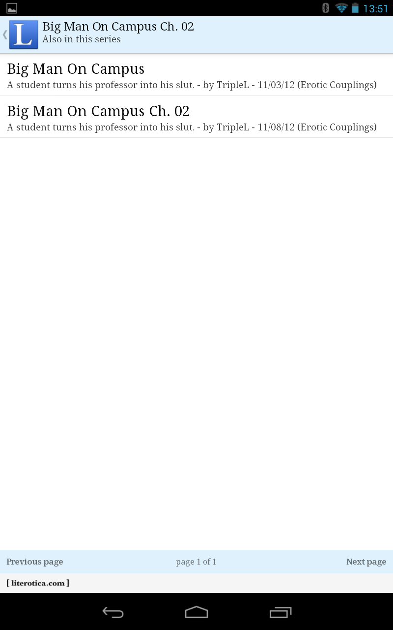 Literotica App