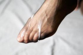 foot job stories Pantyhose